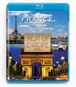 Rudy Maxa: Best of Europe - France - Travel Video - Blu-ray Disc.
