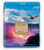 Scenic National Parks - Alaska and Hawaii - Travel Video - Blu-ray Disc.