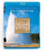 Scenic National Parks - Yellowstone - Blu-ray Disc.
