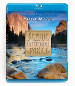 Scenic National Parks - Yosemite - Travel Video - Blu-ray Disc.
