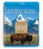 Scenic National Parks - The Best of the National Parks - Blu-ray Disc.
