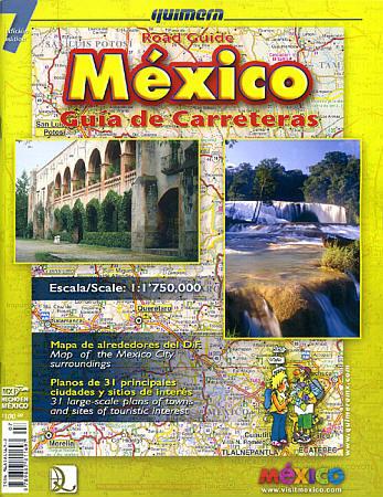 Mexico Tourist Road ATLAS.