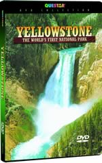 Yellowstone: The World's First National Park - Travel Video - DVD.
