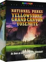 National Parks: Yellowstone, The Grand Canyon and Yosemite - DVD.