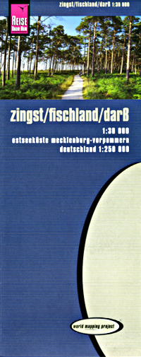 Zingst and Surrounding Area Road Map and Surroun, Germany.