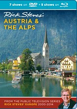 Rick Steves' Austria and the Alps Blu-ray + DVD. Travel Video.