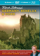 Rick Steves' Germany, Benelux & More (2000-2014) Blu-ray + DVD - Travel Video.