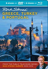 Greece, Turkey & Portugal  (2000-2014) Blu-ray + DVD - Travel Video.