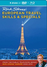 Rick Steves' France 2000-2014, Blu-ray + DVD - Travel Video.