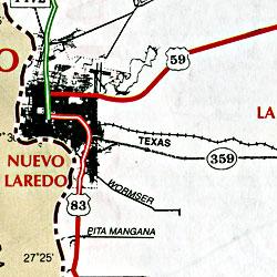Laredo, Texas, America.