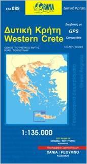 Western Crete Walking Guide.