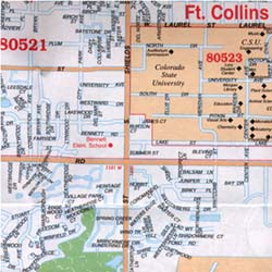 Fort Collins and Loveland, Colorado, America.
