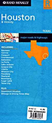 Houston and Vicinity, Texas, America.