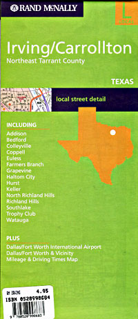 Irving and Carrollton, Texas, America.