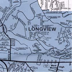 Kelso and Longview, Washington, America.