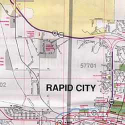 Rapid City, South Dakota, America.