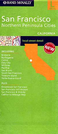 SAN FRANCISCO and the Northern Peninsula Cities, California, America.