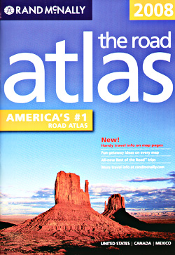 United States Canada and Mexico Road and Tourist ATLAS.