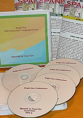 Spanish In Your Car Audio CD Language Course.