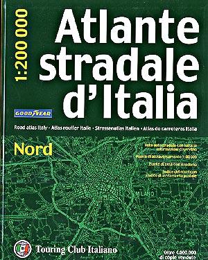 Northern Italy, Tourist Road Atlas.