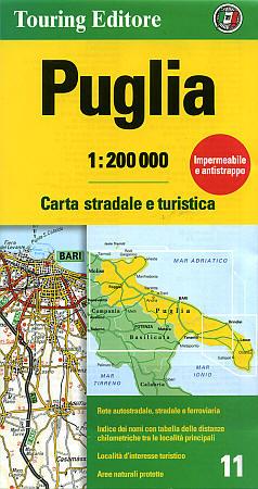 Puglia (Apulia) Region (Foggia-Bari-Potenza-Lecce).