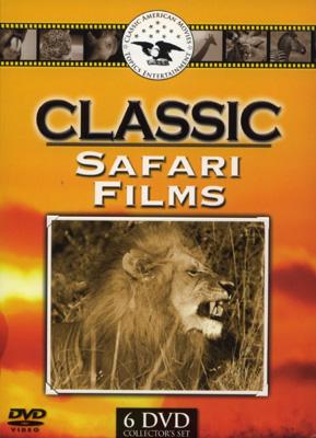 Classic Safari Films - Travel Video - DVD.