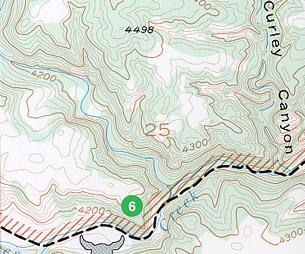 Black Hills, Southeast, Road and Recreation Map, South Dakota, America.