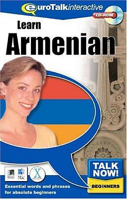 Talk Now! Armenian (Eastern) CD ROM Language Course.