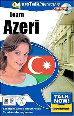 Talk Now! Azerbaijani CD ROM Language Course.