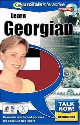 Talk Now! Georgian CD ROM Language Course.