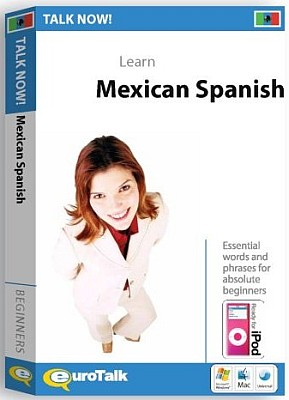 Talk Now! Mexican Spanish CD ROM Language Course.
