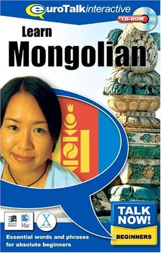 Talk Now! Mongolian CD ROM Language Course.
