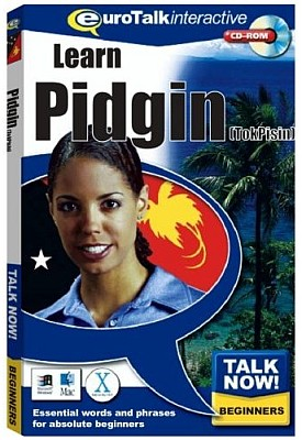 Talk Now! Tok Pisin CD ROM (Pidgin English) Language Course.