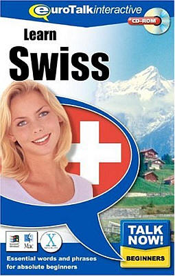 Talk Now! Swiss CD ROM Language Course.