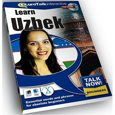 Talk Now! Uzbek CD ROM Language Course.