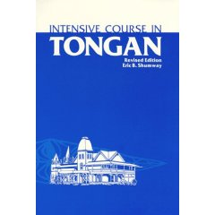 Intensive Course In Tongan.