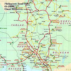 Philippines Tourist Road Atlas.