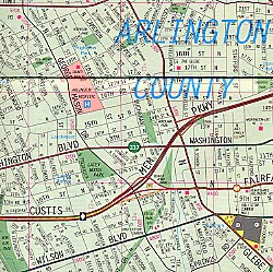 Arlington and Alexandria, Virginia, America.