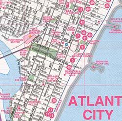 Atlantic City, New Jersey, America.