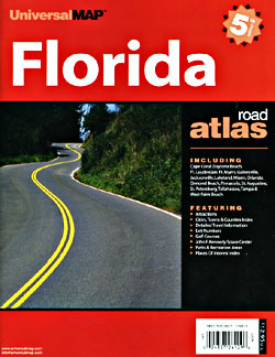 Florida Road and Tourist ATLAS, America.