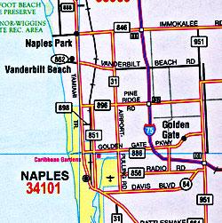 Florida Road and Tourist ATLAS, America.
