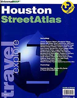 HOUSTON Street ATLAS, Texas, America.