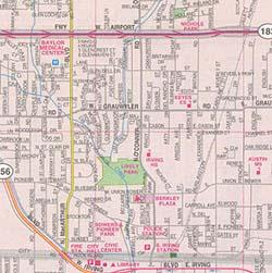 Irving, Carrollton and Grand Prairie, Texas, America.