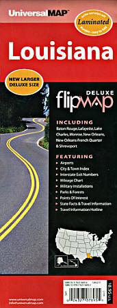 "Louisiana ""Flipmap"" America."
