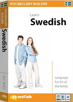 Swedish Vocabulary Builder CD ROM Language Course.