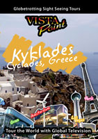 Cyclades Islands - Travel Video - DVD.