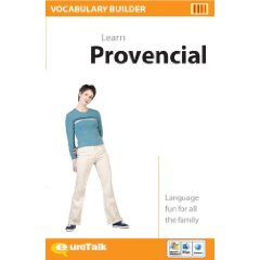 Provencal Vocabulary Builder CD ROM Language Course.