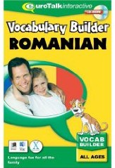 Romanian Vocabulary Builder CD ROM Language Course.