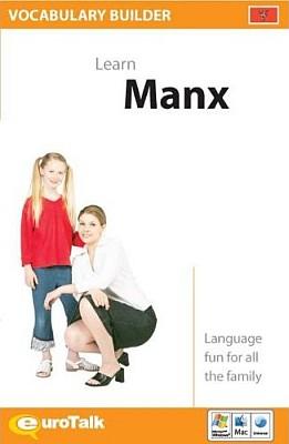 Manx Vocabulary Builder CD ROM Language Course.