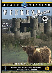 Conwy, Wales - Travel Video - DVD.